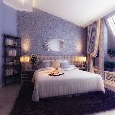 Bedroom Decorating Small Attic Bedroom Including Bookshelf Corner