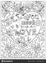 Kleurplaten Over Liefde