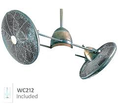 dual blade ceiling fan double oscillating ceiling fan twin ceiling fan dual motor ceiling fan double