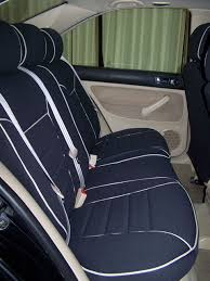 volkswagen jetta full piping seat covers rear seats