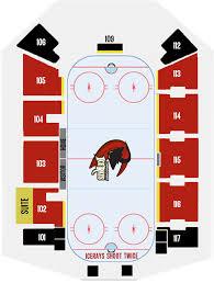 Rays Seating Chart Single Game Tickets Corpus Christi Icerays