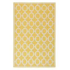 espana yellow 2 ft x 8 ft indoor outdoor runner rug