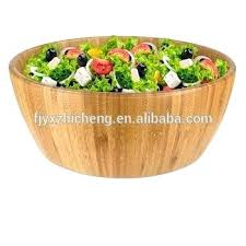 large salad bowl whole round large bamboo salad party serving bowl large wood salad bowl set