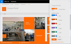Sharepoint Website Examples Sharepoint Online Theming The Threads Between Modern And