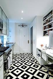 black and white diamond tile floor. Simple Black White Kitchen With Black And White Diamond Tiled Floor In Black And Diamond Tile Floor R