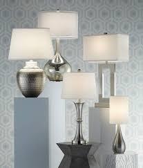 possini euro lighting. Possini Modern Mercury Glass Table Lamp - Table-lamps Euro Lighting