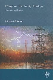essays on electricity markets information and trading