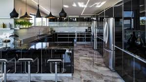 kitchen design new plymouth. every surface gleams in this new kitchen a contemporary plymouth house at fitzroy beach design