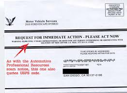 the extended warranty scam continues this time masquerading as legitimate company motor vehicle services