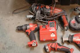 craftsman power tools. milwaukee and hilti power tools in rolling craftsman toolbox, 5+ pieces