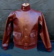 a 1 horsehide leather flight jacket 1930s