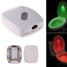 <b>led Toilet Seat Night</b> Light Motion Sensor WC Toilet Bowl Seat Lamp ...