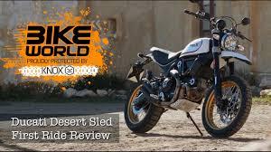 ducati scrambler desert sled launch review youtube