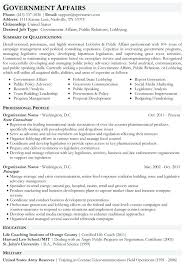Government Resume Example Federal Government Resume Example New
