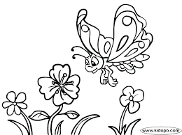 flower and butterfly coloring pages.  And Free Printable Pictures Of Flowers And Butterflies Coloring Pages Ies Pro Throughout Flower And Butterfly Coloring Pages N
