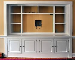 Built In Entertainment Center Designs Turn A Closet Into A Built - Bedroom tv cabinets