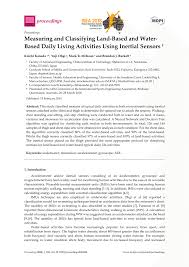 (PDF) Measuring and Classifying Land-Based and Water-Based ...