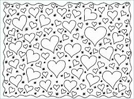 Coloring Pages Of Roses And Hearts Best Of Valentines Heart Coloring