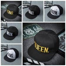 king queen letter baseball cap hip hop 6 styles embroidered baseball cap couples cap pattern accessories iia261 embroidered hats leather hats from