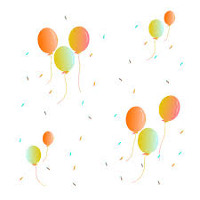 Vector Floating Balloon Free Download