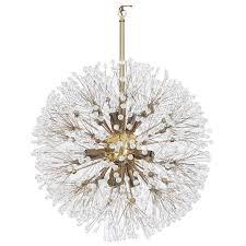 vintage brass snowball sputnik chandelier at 1stdibs pertaining to elegant home vintage sputnik chandelier decor