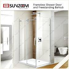 easy to clean shower doors easy clean tempered glass new design 3 panel sliding shower door