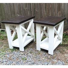 coffee table and end tables smaller version of our rustic x end tables coffee table matching