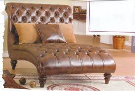 THOMASVILLE LEATHER CHAISE LOUNGE WATERTOWN NEW YORK Furniture For