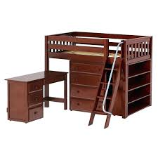 charleston loft bed full size storage loft bed with desk storage loft bed with desk assembly