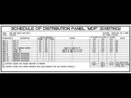 Distribution Board Circuit Chart Template Load Scheduling Of Power System