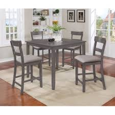 black dining room sets. Henderson 5 Piece Counter Height Dining Set Black Room Sets