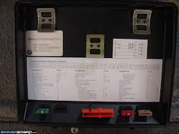 pppp obc question the fuse locations are listed underneath the cover of the fuse box an alphabetical list and diagram that shows their amps