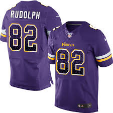 82 Elite Kyle Rudolph Purple Nike Nfl Home Mens Jersey