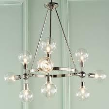 adjule modern globe chandelier shades of light