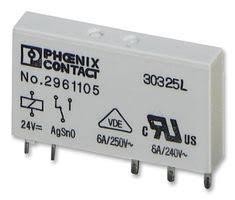 2961105 phoenix contact general purpose relay rel mr series phoenix contact 2961105
