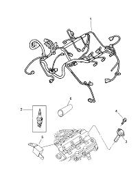 2006 chrysler 300 spark plugs cables coils diagram 00i98595