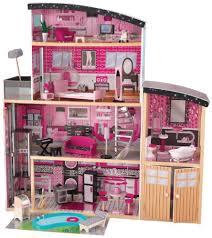 wooden barbie doll furniture. Image Is Loading KidKraft-Sparkle-Mansion-Wood-Furnished-Doll-House-Play- Wooden Barbie Doll Furniture Y