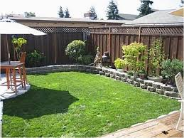 Landscape Designs For Small Backyards Simple Decorating