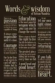 Words of wisdom quotes NELSON MANDELA WORDS WISDOM QUOTES 100x100 POSTER Courage 65