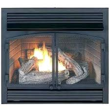 gas fireplace logs with remote vent free natural thermostatic control blower
