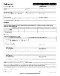 Walmart Application Walmart Application Form Edit Fill Sign Online Handypdf