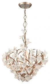 nature inspired lighting. Lily Love: Romantic And Ethereal, The Delicate Bouquets Of Handmade Soft White Porcelain Flowers Nature Inspired Lighting