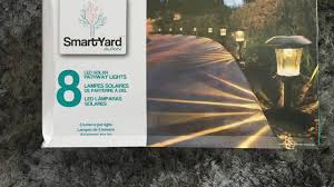 smartyard solar led large pathway lights from costco you outdoor maxresdefault full size