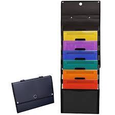 Compono Premium Hanging File Folder Organizer 9 Large