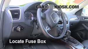 interior fuse box location 2009 2016 audi q5 2010 audi q5 interior fuse box location 2009 2016 audi q5 2010 audi q5 premium 3 2l v6