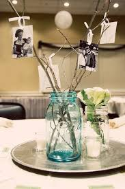 Glass Jar Table Decorations 100 Rustic Mason Jar Centerpieces To Try DIY Projects 16