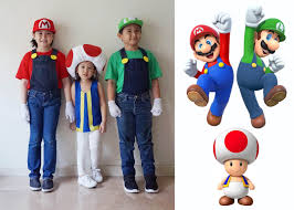 i d always envisioned my two boys going as mario and luigi and my daughter as princess peach but for some reason my 7 year old daughter doesn t want to