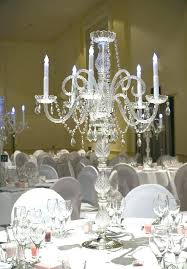 crystal tabletop chandelier centerpieces for weddings table kitchen likable centerp enchanting