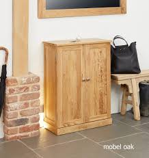 mobel oak console table. Baumhaus Mobel Oak Shoe Cupboard Console Table A