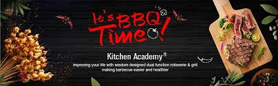 Open grills and contact grills. Amazon Com Kitchen Academy Indoor Infrared Grill Portable Non Stick Electric Tabletop Kitchen Bbq Grill And Rotisserie Kitchen Dining